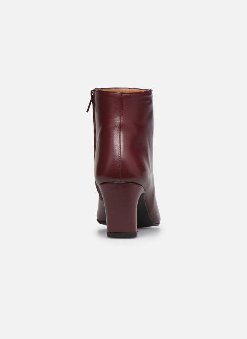 Bottines et boots Flattered Xenia Bordeaux vue droite