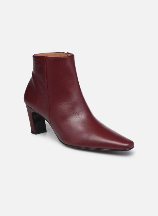 Bottines et boots Flattered Xenia Bordeaux vue détail/paire