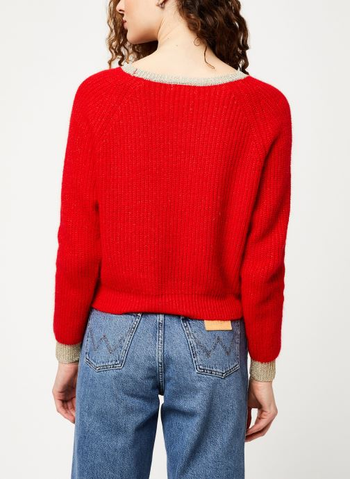 Vêtements Garance ALRIC Rouge vue portées chaussures