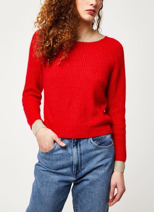Vêtements Garance ALRIC Rouge vue détail/paire