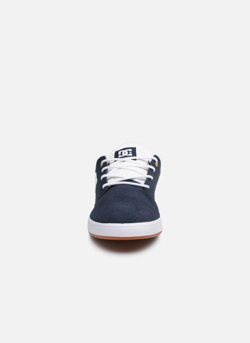 Baskets DC Shoes Plaza TC Bleu vue portées chaussures