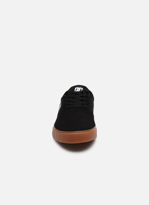 Baskets DC Shoes Switch Noir vue portées chaussures