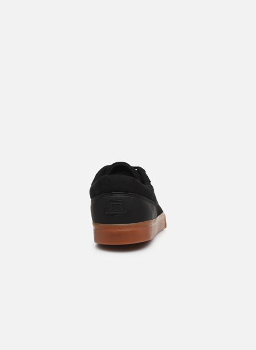 Baskets DC Shoes Switch Noir vue droite