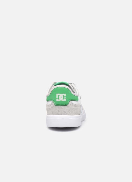 Baskets DC Shoes Vestrey Blanc vue droite