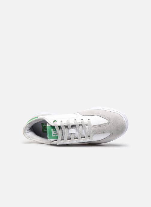 Baskets DC Shoes Vestrey Blanc vue gauche