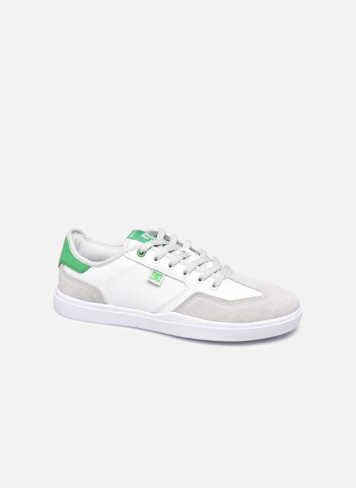 Baskets DC Shoes Vestrey Blanc vue détail/paire