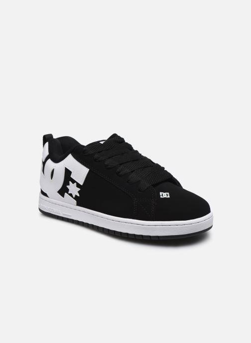 Baskets DC Shoes Court Graffik Noir vue détail/paire