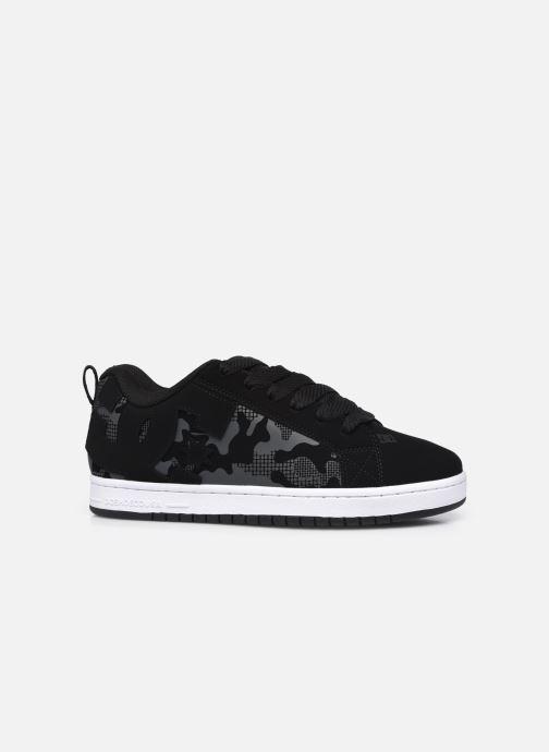 Sneaker DC Shoes Court Graffik schwarz ansicht von hinten