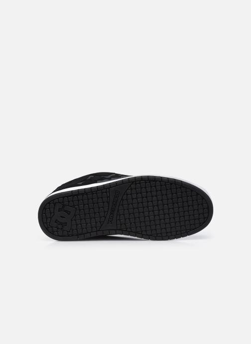 Sneaker DC Shoes Court Graffik schwarz ansicht von oben