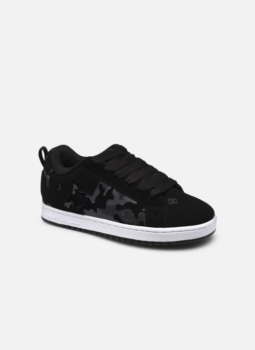 Sneaker DC Shoes Court Graffik schwarz detaillierte ansicht/modell