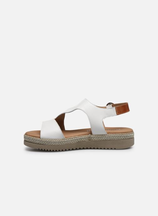 Sandales et nu-pieds Dorking Went D8234 Blanc vue face