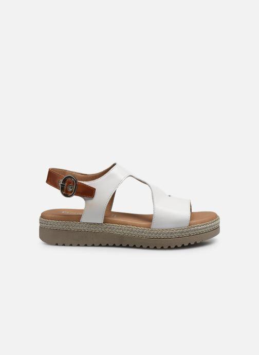 Sandales et nu-pieds Dorking Went D8234 Blanc vue derrière
