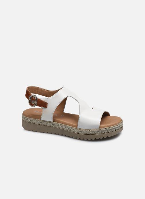 Sandales et nu-pieds Dorking Went D8234 Blanc vue détail/paire