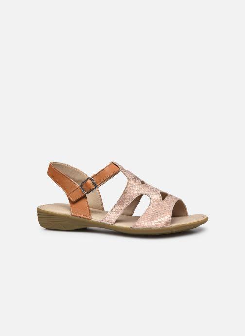 Sandales et nu-pieds Dorking Auda D8188 Rose vue derrière