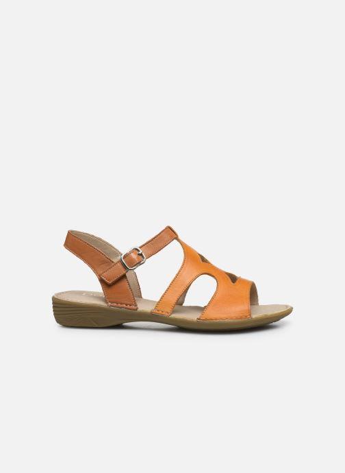 Sandales et nu-pieds Dorking Auda D8188 Orange vue derrière