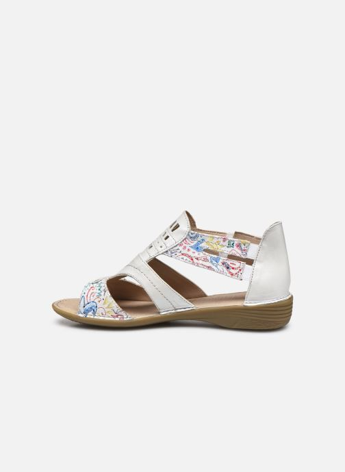 Sandali e scarpe aperte Dorking Oda D6769 Bianco immagine frontale