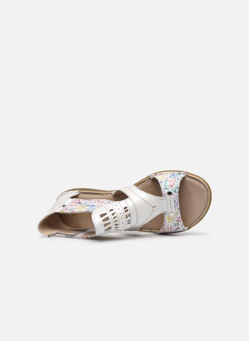 Sandales et nu-pieds Dorking Oda D6769 Blanc vue gauche