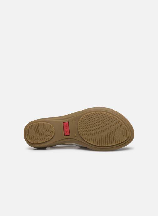 Sandali e scarpe aperte Dorking Oda D6769 Bianco immagine dall'alto