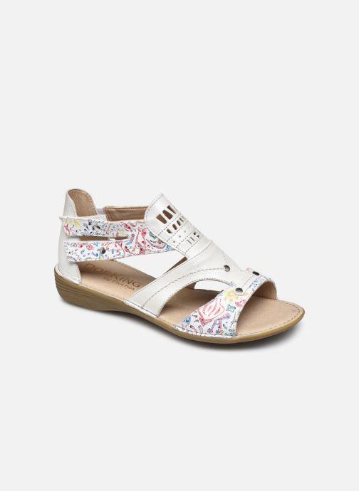 Sandali e scarpe aperte Dorking Oda D6769 Bianco vedi dettaglio/paio