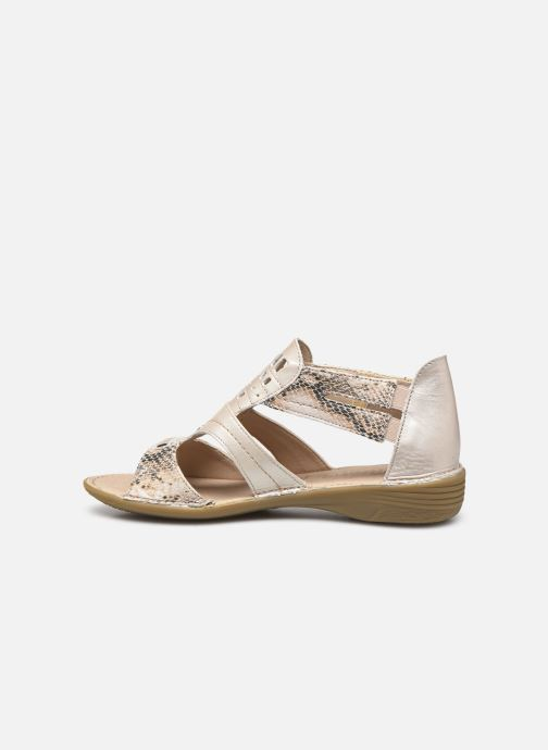 Sandales et nu-pieds Dorking Oda D6769 Blanc vue face