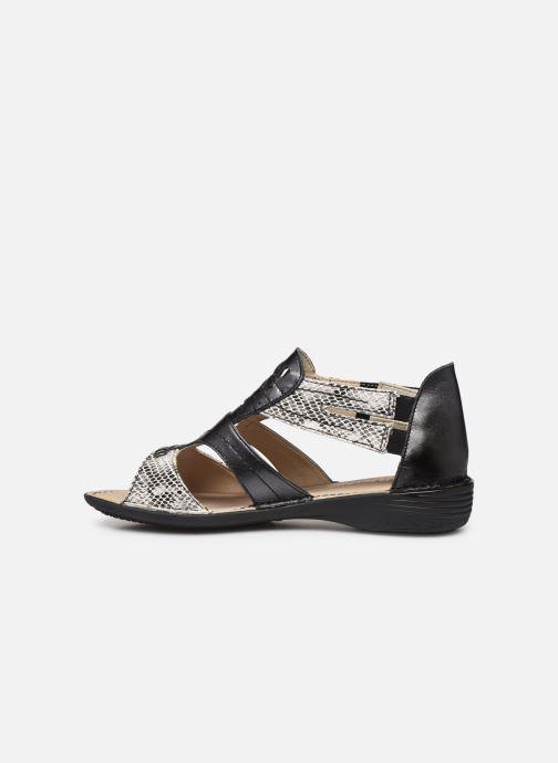 Sandali e scarpe aperte Dorking Oda D6769 Nero immagine frontale