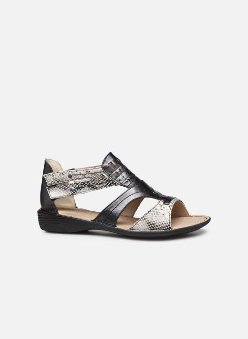 Sandali e scarpe aperte Dorking Oda D6769 Nero immagine posteriore