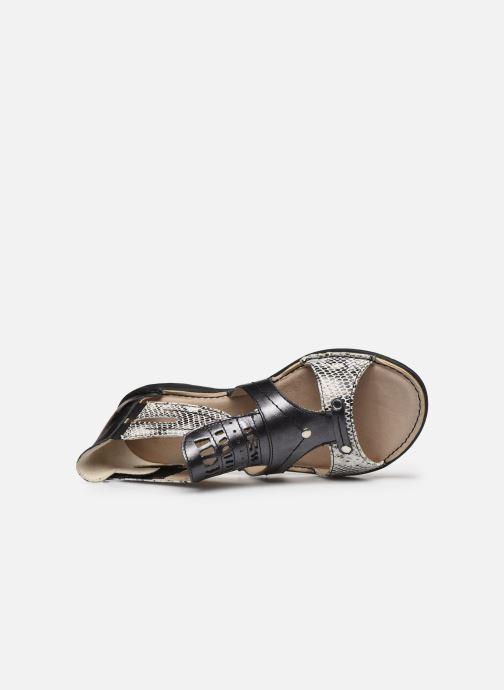 Sandali e scarpe aperte Dorking Oda D6769 Nero immagine sinistra