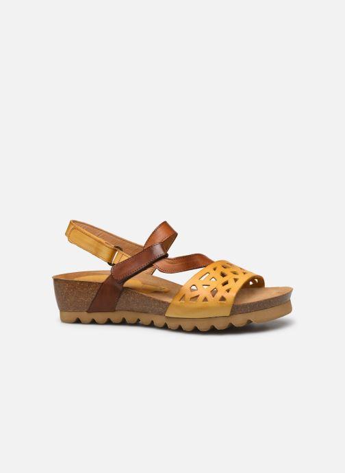 Sandales et nu-pieds Dorking Samir D8157 Marron vue derrière