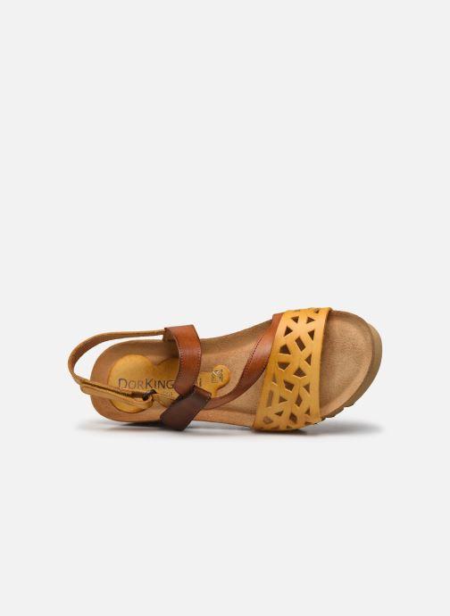 Sandales et nu-pieds Dorking Samir D8157 Marron vue gauche
