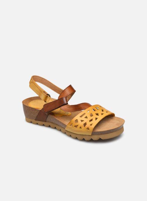 Sandales et nu-pieds Dorking Samir D8157 Marron vue détail/paire