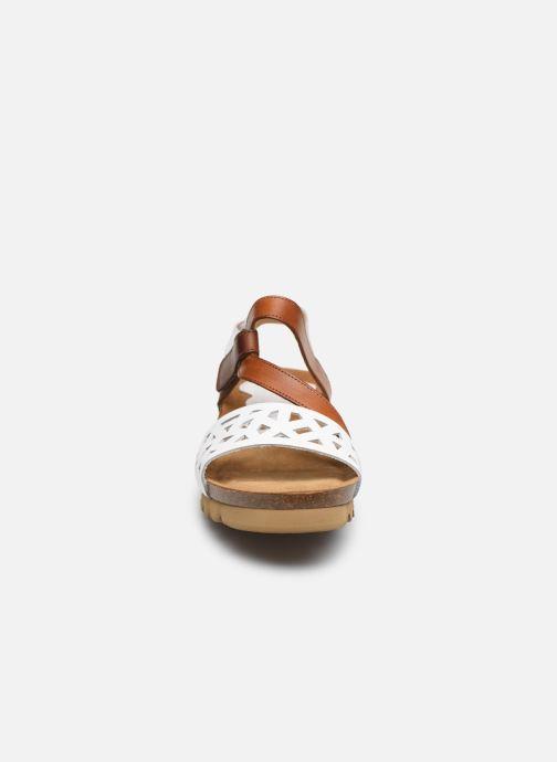Sandales et nu-pieds Dorking Samir D8157 Blanc vue portées chaussures