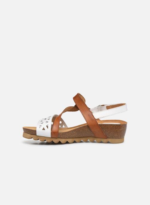 Sandales et nu-pieds Dorking Samir D8157 Blanc vue face