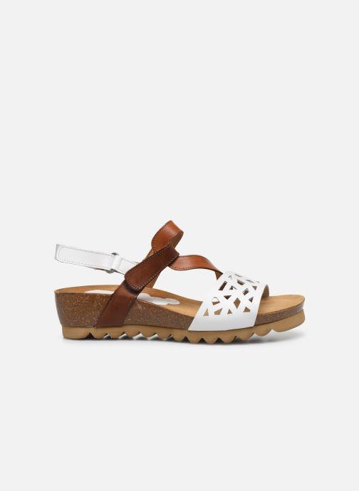 Sandales et nu-pieds Dorking Samir D8157 Blanc vue derrière