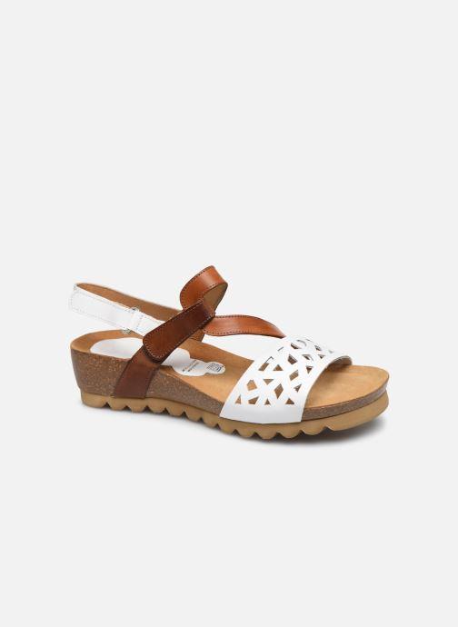 Sandales et nu-pieds Dorking Samir D8157 Blanc vue détail/paire