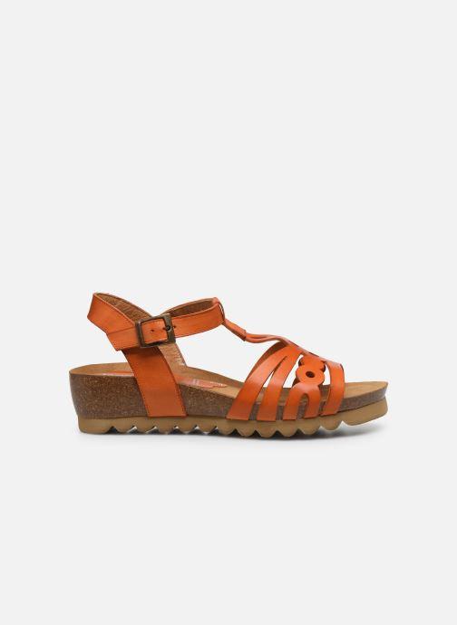 Sandales et nu-pieds Dorking Summer D8158 Orange vue derrière