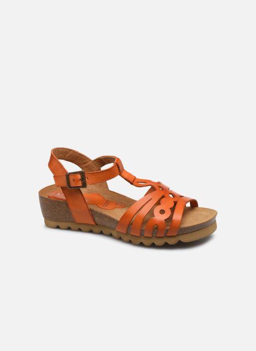 Sandales et nu-pieds Dorking Summer D8158 Orange vue détail/paire