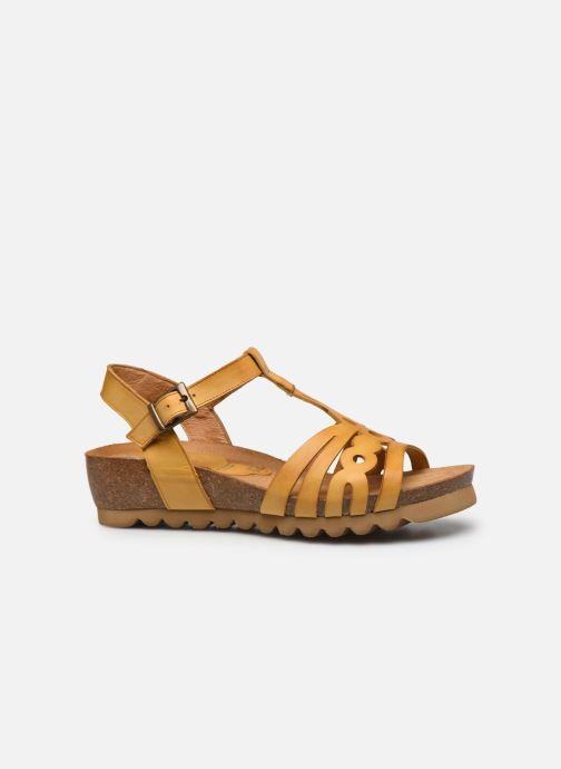 Sandales et nu-pieds Dorking Summer D8158 Jaune vue derrière