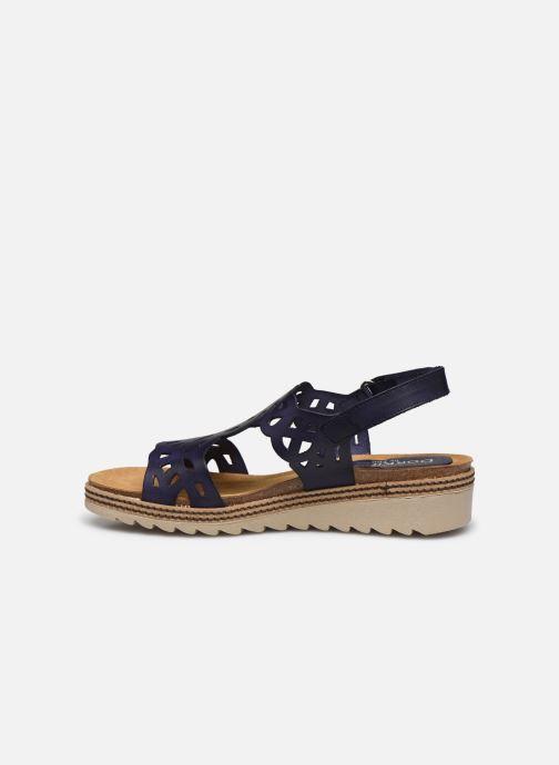 Sandales et nu-pieds Dorking Espe D8178 Bleu vue face