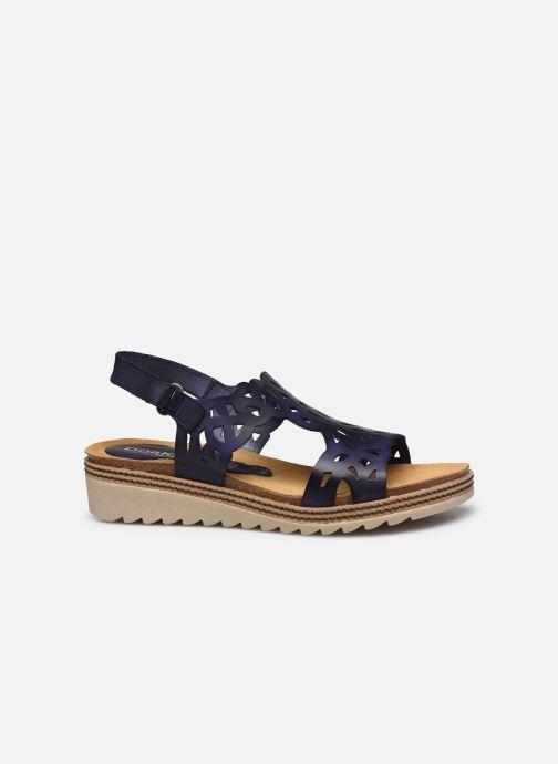 Sandales et nu-pieds Dorking Espe D8178 Bleu vue derrière