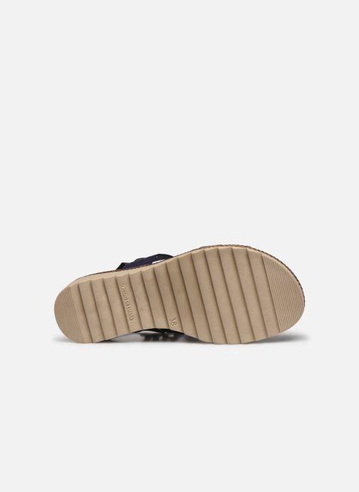 Sandales et nu-pieds Dorking Espe D8178 Bleu vue haut