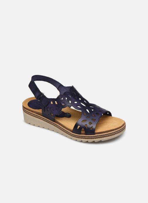 Sandales et nu-pieds Dorking Espe D8178 Bleu vue détail/paire