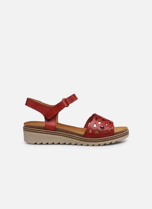 Sandales et nu-pieds Dorking Espe D8179 Rouge vue derrière