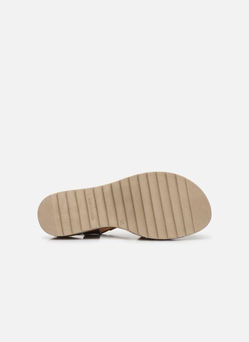 Sandales et nu-pieds Dorking Espe D8179 Marron vue haut