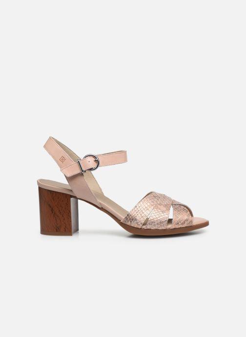Sandales et nu-pieds Dorking Norqui D8175 Rose vue derrière