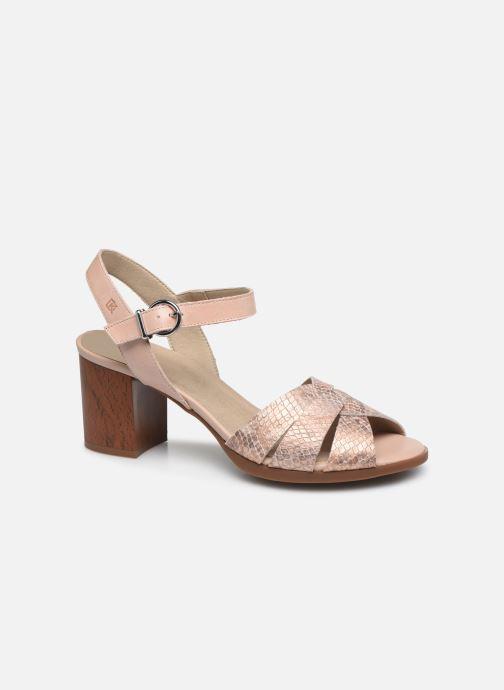 Sandales et nu-pieds Dorking Norqui D8175 Rose vue détail/paire