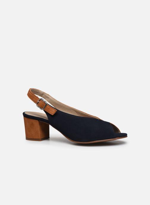 Sandales et nu-pieds Dorking Xia D8213 Bleu vue derrière