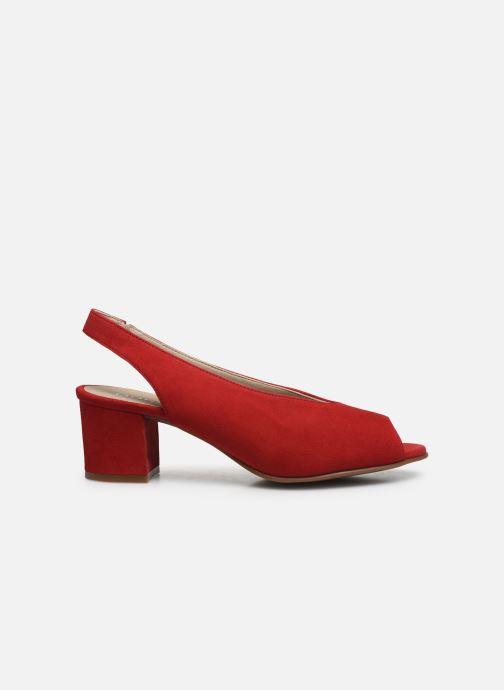 Sandales et nu-pieds Dorking Xia D8210 Rouge vue derrière