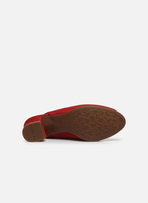 Sandales et nu-pieds Dorking Xia D8210 Rouge vue haut