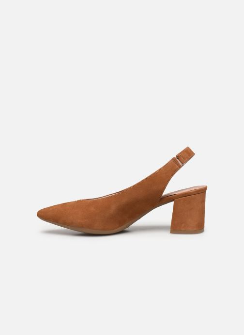 Zapatos de tacón Dorking Sofi D7806 Marrón vista de frente