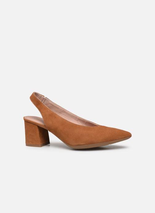 Zapatos de tacón Dorking Sofi D7806 Marrón vistra trasera